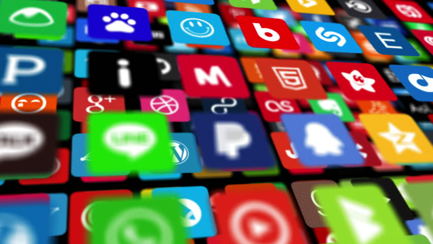 Social networking, animation icons | Shutterstock HD Video #14089880