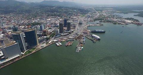 Trinidad and Tobago, Port Of Spain, Tobago Fast Ferry,