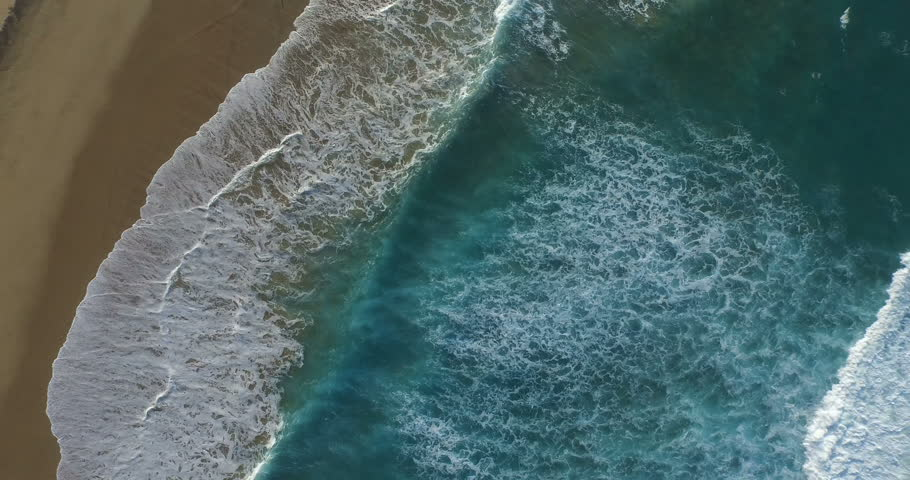 4k epic aerial video of Playa de Cofete from above. | Shutterstock HD Video #14218871