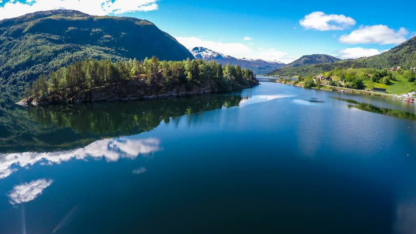 76fbab0a8e28 Beautiful Nature Norway. Flying Over Stock Footage Video (100%  Royalty-free) 14544631 | Shutterstock