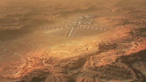 Mars colonization concept