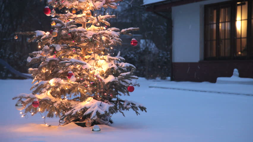 Christmas Outdoor Garland