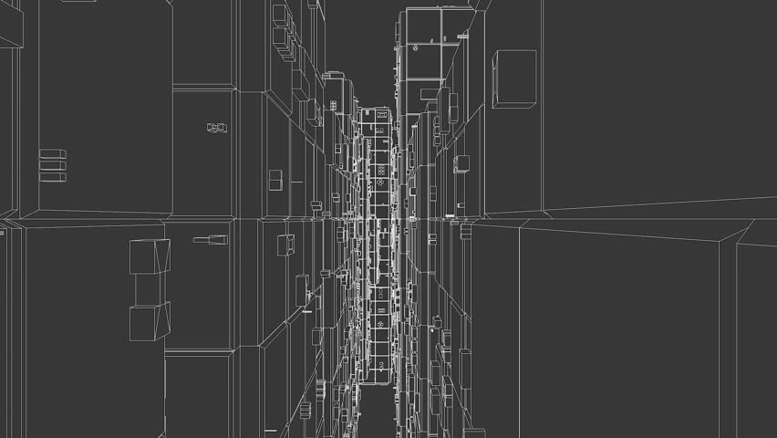 Abstract architecture background blueprint house plan stock set 12 01 endless cities hd stock video clip malvernweather Choice Image