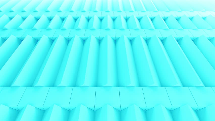 Abstract rectangular and box elements background with randomly rotated elements, 3d render or boxes and rectangles with fillet edges, loopable | Shutterstock HD Video #14660191