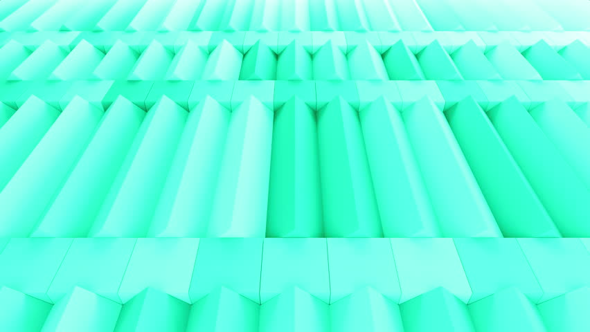 Abstract rectangular and box elements background with randomly rotated elements, 3d render or boxes and rectangles with fillet edges, loopable | Shutterstock HD Video #14660197