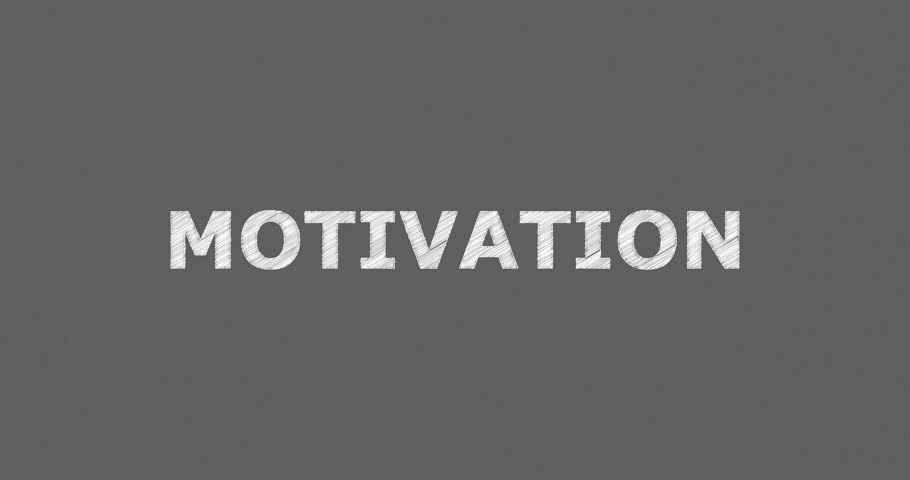 4k0008Writing Or Sketching A Word MOTIVATION