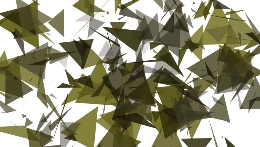 4K Lowpoly Triangles Background Animation in Yelow and Black | Shutterstock HD Video #14702491