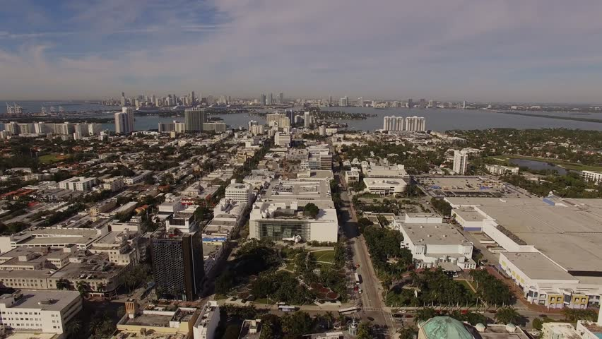 Aerial Miami Beach Florida | Shutterstock HD Video #14726221