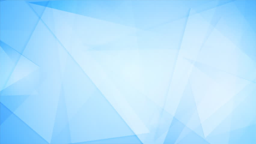 light blue tech geometric polygonal stock footage video