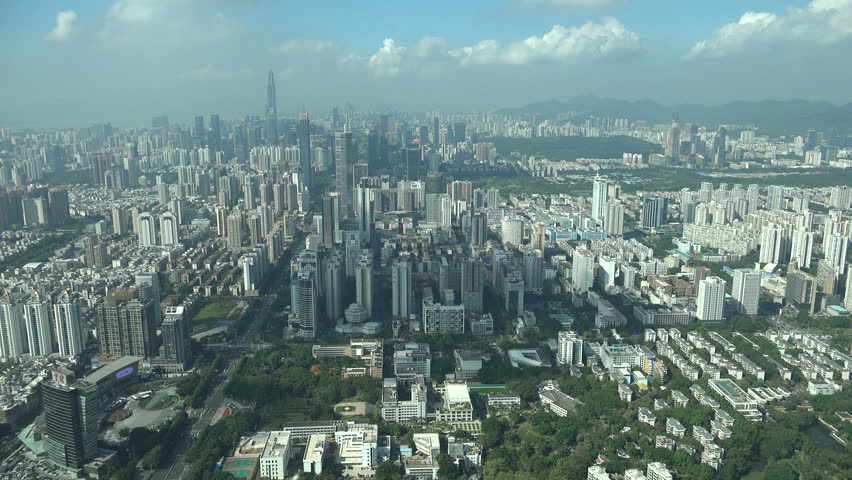 Lovely Shenzhen A & H Design Home Limited Part - 6: SHENZHEN, CHINA - 18 NOVEMBER 2015: Cityscape Of Shenzhen, A Special  Economic Zone (SEZ) And One Of The First Cities To Benefit From Chinau0027s  U0027open Door ...