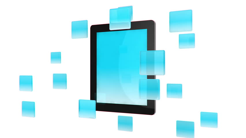 Tablet Pc with App Icons Stock Footage Video (100% Royalty-free) 1484401    Shutterstock