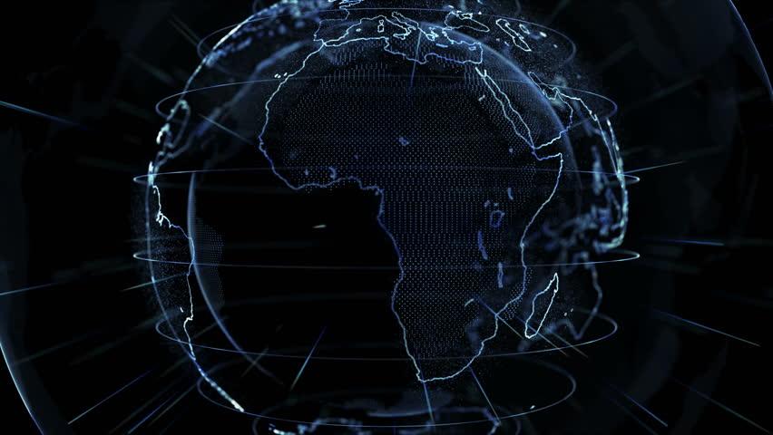 Breaking news background stock footage video shutterstock - Digital world hd ...