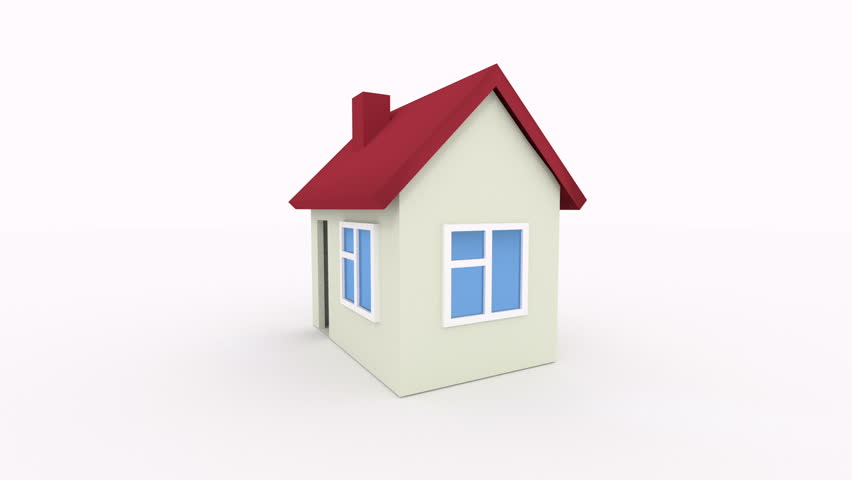 House icon rotate animation seamless looping hd video for New home pic