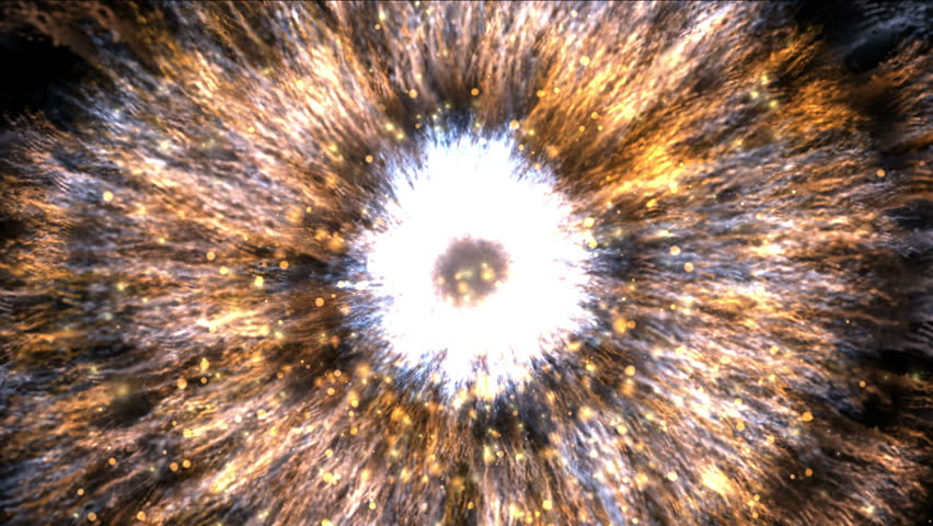 4k Fireworks energy particle firecracker explosion background,pupil eye,galaxy cluster explosion power science fiction space. 3901_4k