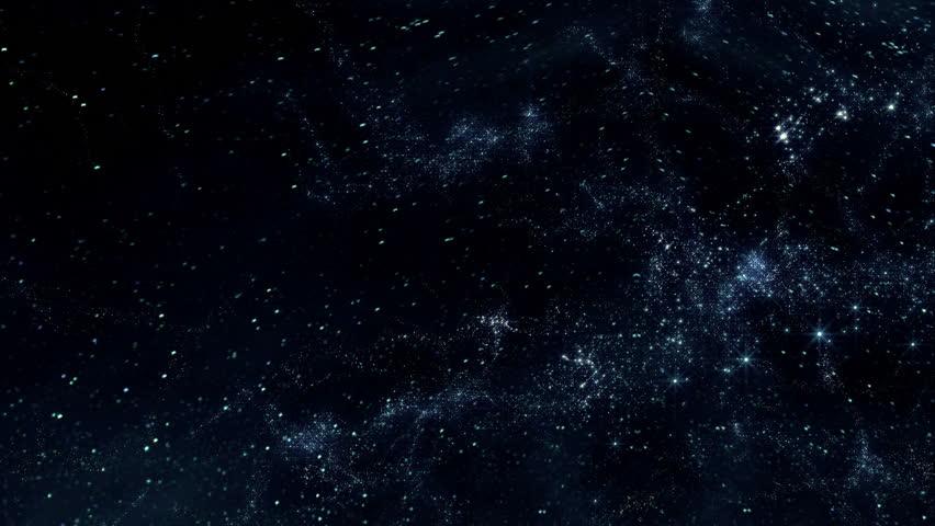 Space 2122: Flying through star fields in deep space (Loop). | Shutterstock HD Video #14996698
