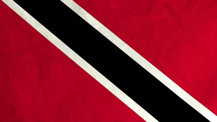 Trinidadian flag waving in the wind (full frame footage in 4K UHD resolution) | Shutterstock HD Video #15011701
