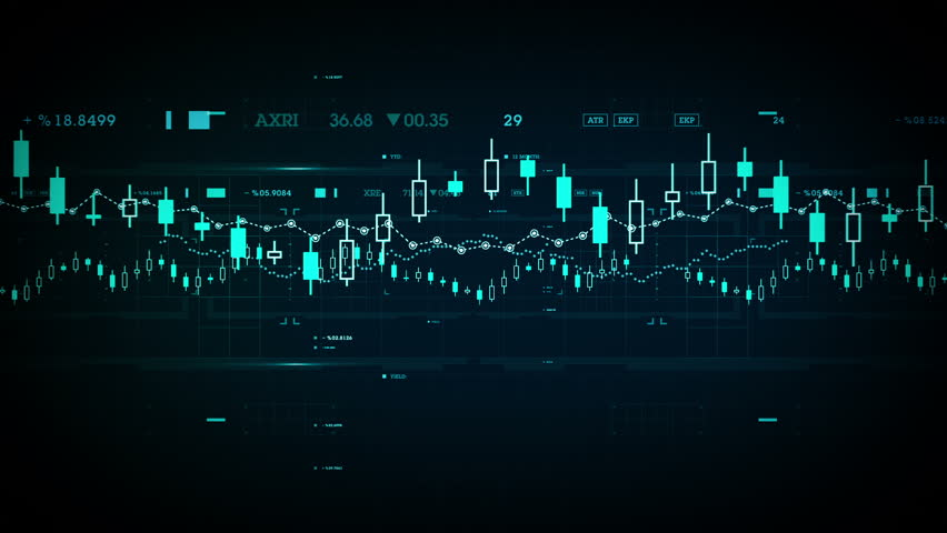 Financial Data Dolly - A camera passes through financial data in cyberspace. Available in multiple colors. Loops seamlessly. | Shutterstock HD Video #15016351