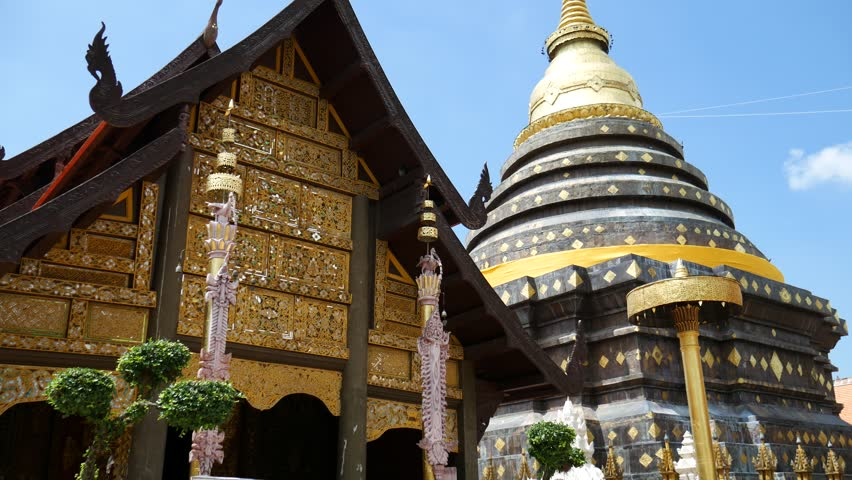 Wat Phra That Lampang Luang (Temple of Lampang's Great Buddha Relic) is located in Lampang Province. The temple building of Lanna style is located on the hill. It is a travel destination in Lampang.