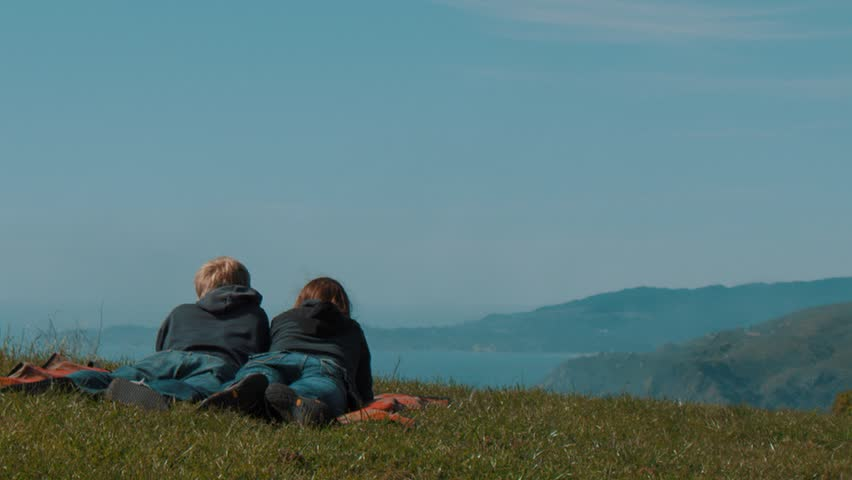 Couple overlooking Mountains  | Shutterstock HD Video #15133921