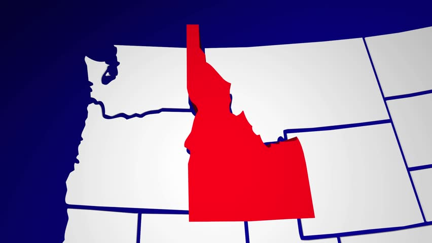 Idaho Id United States of Stock Footage Video (100% Royalty-free) 15166771 on nh us map, nc us map, state us map, name us map, time us map, ne us map, iq us map, or us map, lv us map, split us map, ks us map, se us map, pacific northwest region us map, wi us map, wv us map, va us map, ny us map, az us map, ma us map,