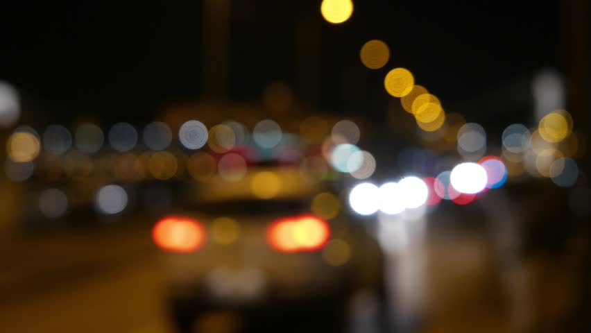 4K Blurred City Traffic Lights at Night 4K 3840x2160 ultra high definition   Shutterstock HD Video #15205321