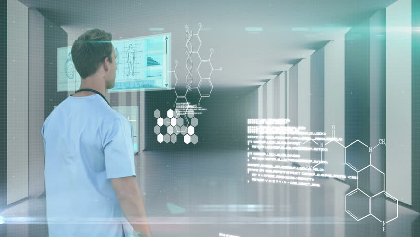 Researcher using technology for analyzing | Shutterstock HD Video #15232201