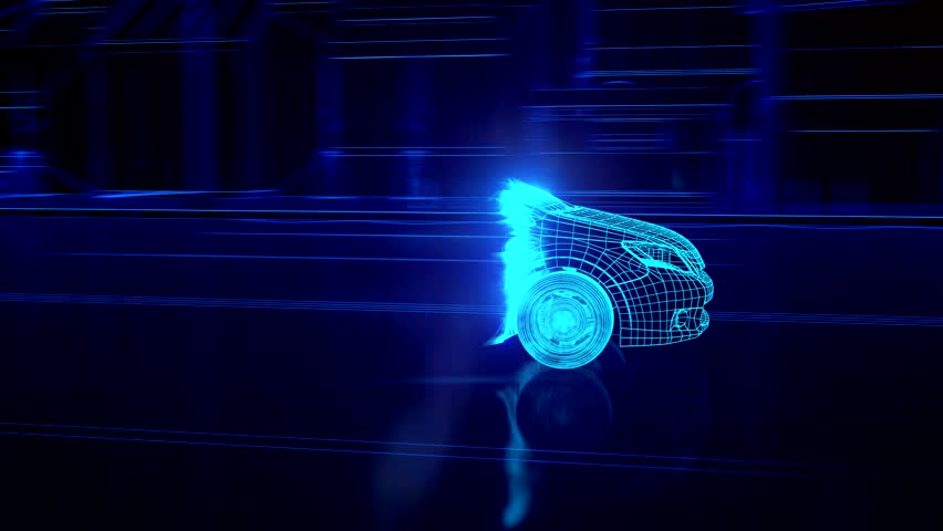 Abstract 3D Car Animation | Shutterstock HD Video #15235261