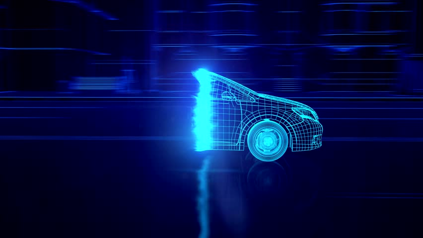 Abstract 3D Car Animation | Shutterstock HD Video #15235354