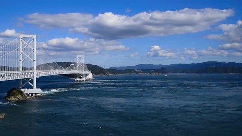 Naruto Channel . The Seto inland Sea.