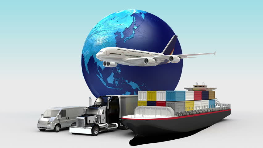 Growing Global Network With Airplane, Train,ship, Car