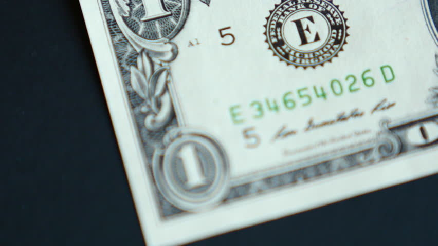 4K United States One Dollar Bill | Shutterstock HD Video #15316291