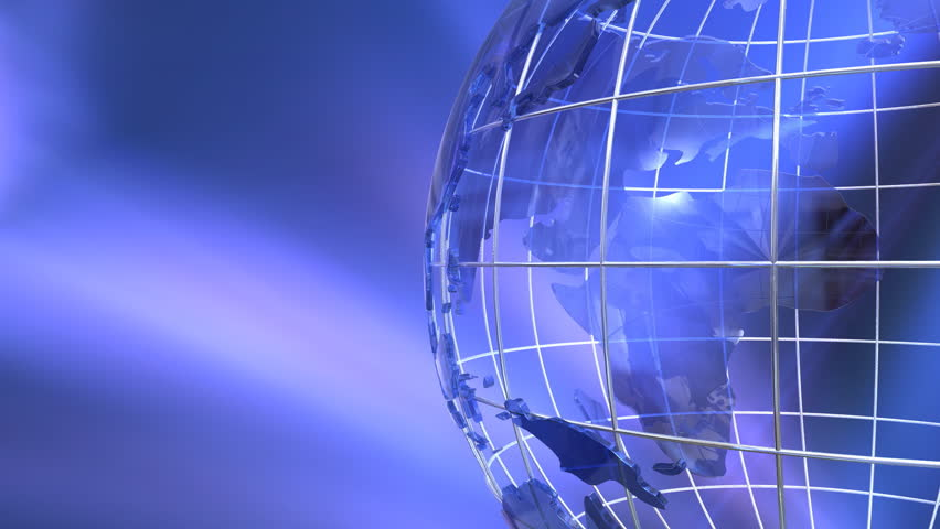 Rotating globe with motion graphics | Shutterstock HD Video #1534546