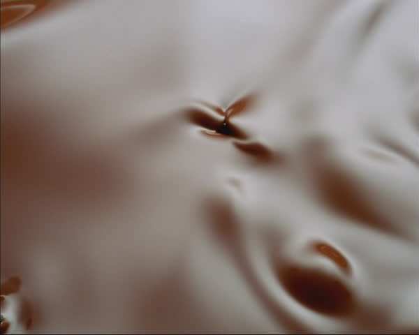Chocolate swirling