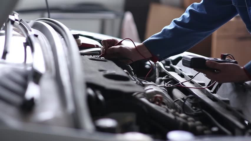 Professional car mechanic, auto repair concept | Shutterstock HD Video #15543871