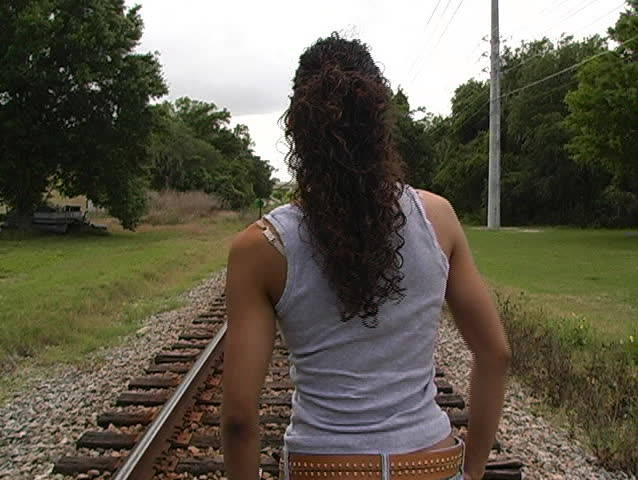 Woman walking away Stock Video Footage - 4K and HD Video ...