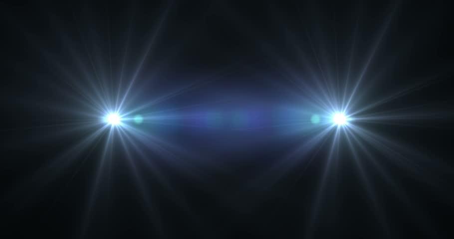 Animated Flashing Lights Background