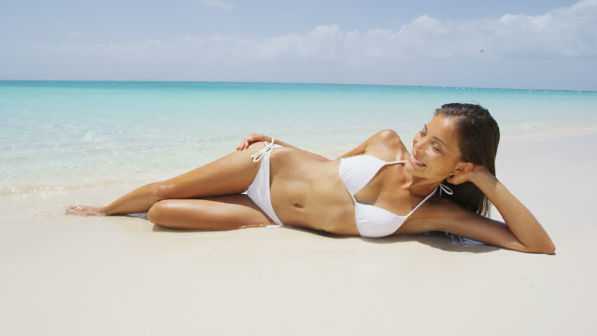 girls body Asian bikini