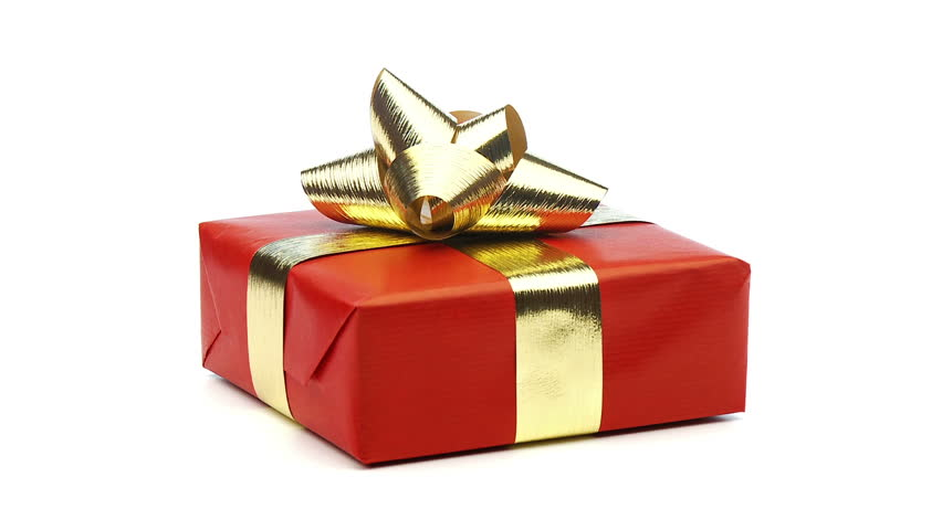 Christmas Present.Small Red Christmas Present Looping Stock Footage Video 100 Royalty Free 1584091 Shutterstock