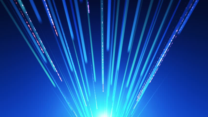 Moving Over Optical Fibers With Flashing Light Signals