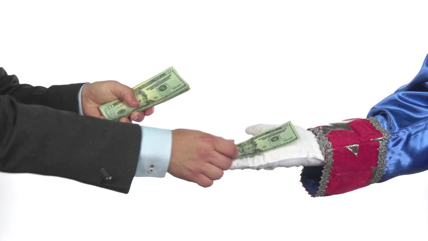 Handing Uncle Sam money