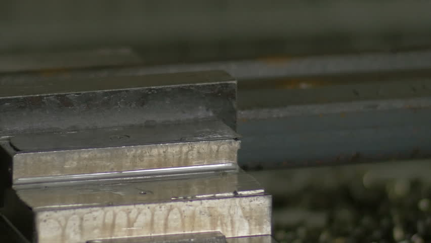 Train rails automated manufacturing line - detail shot | Shutterstock HD Video #16088491