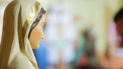 Ave Maria Statue for prayer