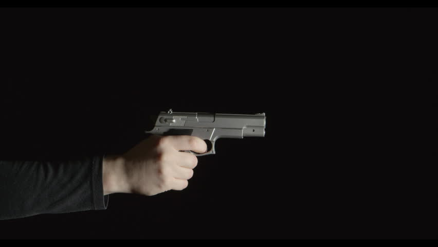 Hand Gun Black Background Collection 15 Wallpapers