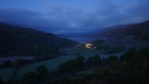 Capel Curig Sunrise Timelapse - Snowdonia