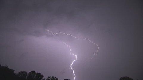 Lightening Strikes in CT
