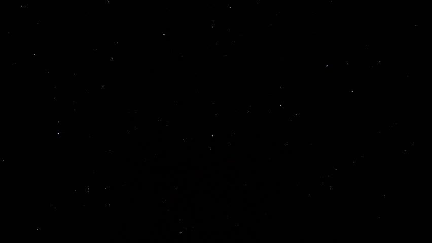 Moving stars in dark sky | Shutterstock HD Video #16582501