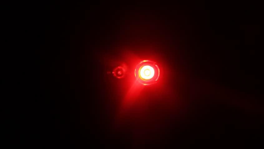 Exceptional Stock Video Of Red Flashing Light ,blinking Light,bike Lights | 16715611 |  Shutterstock