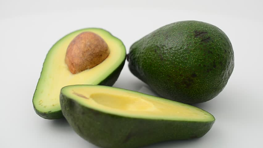 Header of avocado