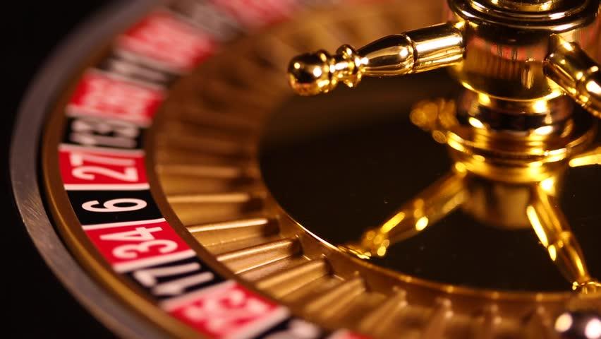 футаж рулетка казино