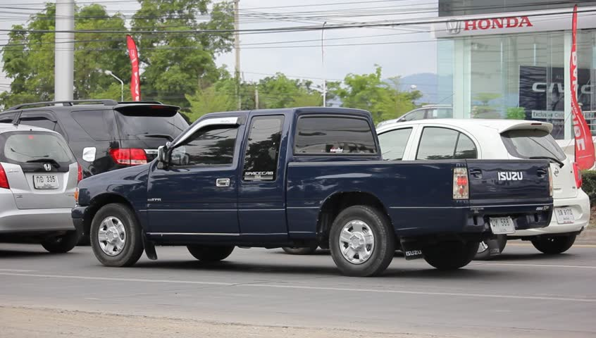 chiangmai thailand may 22 2016 private pick up truck isuzu d - Green Canopy 2016